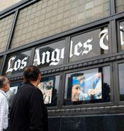 Los Angeles Times kontor i LA. Richard Vogel / TT NYHETSBYRÅN/ NTB Scanpix