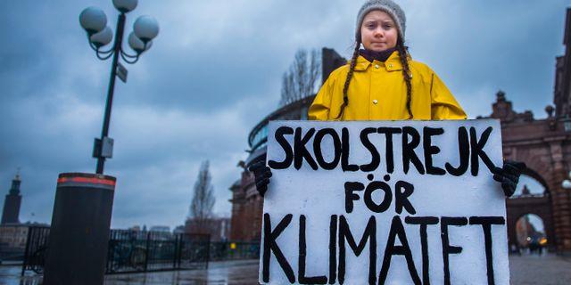Greta Thunberg Hanna Franzén/TT / TT NYHETSBYRÅN