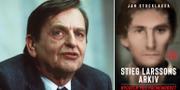 Olof Palme. Omslaget till den nya boken. TT/Bokfabriken