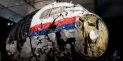 Ett återuppbyggt MH17. Peter Dejong / TT / NTB Scanpix