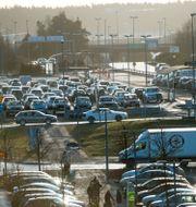 Illustrationsbild: Långtidsparkeringen på Arlanda. Fredrik Sandberg/TT / TT NYHETSBYRÅN