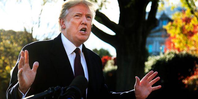 Trump lovade okat stod till cia