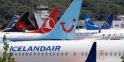 Illustrationsbild: Strandade Boeing 737-plan. Elaine Thompson / TT NYHETSBYRÅN