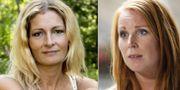 Katerina Janouch och Annie Lööf  TT