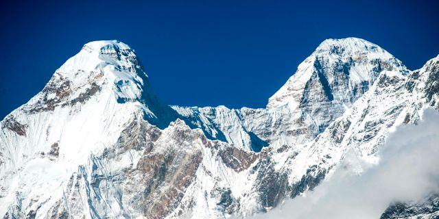 Berget Nanda Devi i Indien. Arkivbild. Maninder Kohli / TT NYHETSBYRÅN/ NTB Scanpix