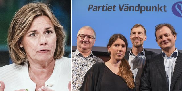 Isabella Lövin och Partiet vändpunkt TT