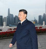 Xi Jinping Ju Peng / TT NYHETSBYRÅN