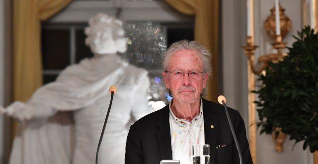 Peter Handke Jonas Ekströmer/TT / TT NYHETSBYRÅN