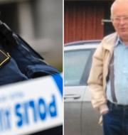 Gert-Inge Bertinsson/polisens sökarbete i Markaryd. Arkivbild. Polisen Ljungby, Markaryd och Älmhult