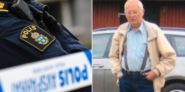 Anhöriga har godkänt att bilden sprids. Polisen Ljungby, Markaryd och Älmhult