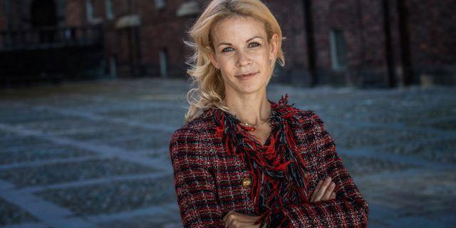 Anna König Jerlmyr, finansborgarråd i Stockholm Malin Hoelstad/SvD/TT / TT NYHETSBYRÅN