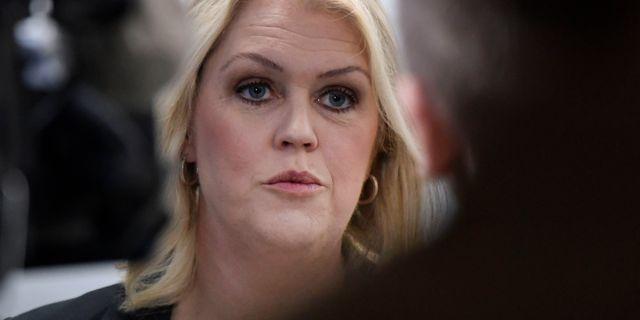 Lena Hallengren (S).  Janerik Henriksson/TT / TT NYHETSBYRÅN