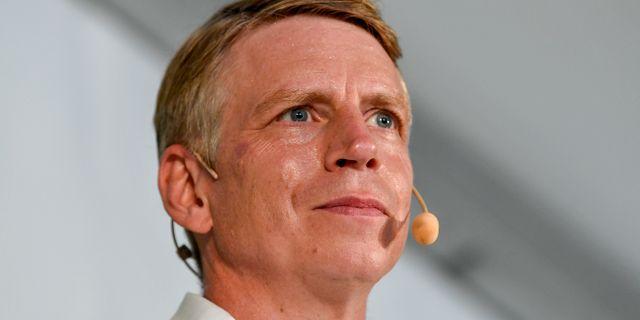 Per Bolund (MP). Henrik Montgomery/TT / TT NYHETSBYRÅN