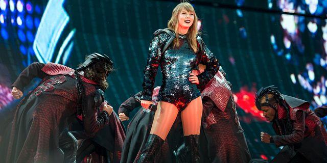 Taylor Swift. Amy Harris / TT / NTB Scanpix