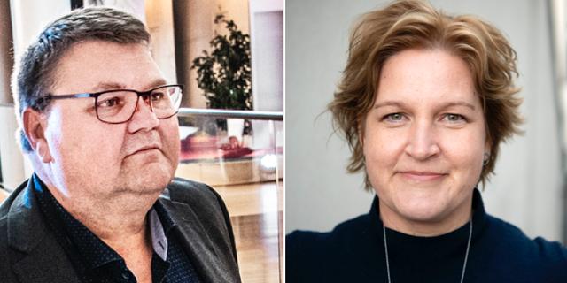 Peter Lundgren och Karin Karlsbro. TT