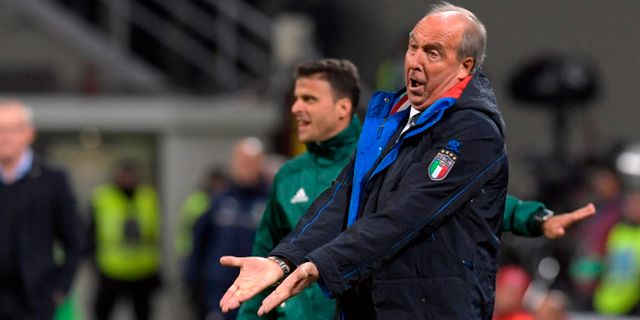 Gian Piero Ventura MIGUEL MEDINA / AFP