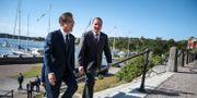 Sydkoreas president Moon Jae-In och Stefan Löfven.  TT NEWS AGENCY / TT NYHETSBYRÅN