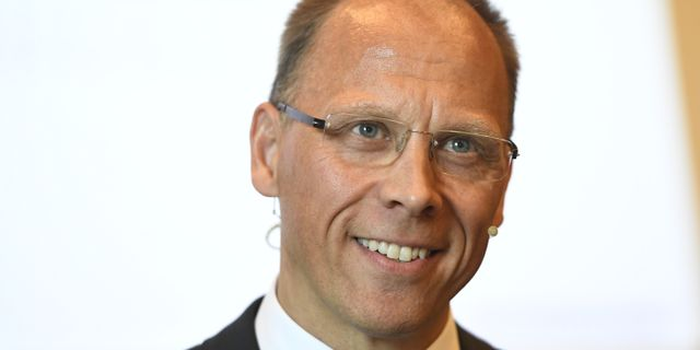 Frank Vang-Jensen.  Maja Suslin/TT / TT NYHETSBYRÅN