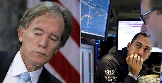 Bill Gross till vänster. Arkivbild. TT