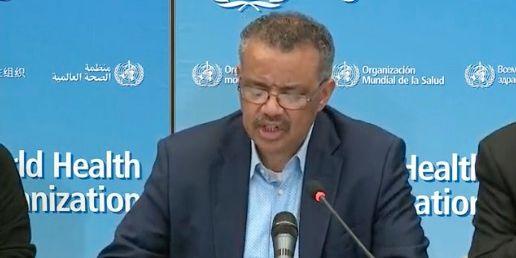 WHO:s  generaldirektör Tedros Adhanom Ghebreyesus.