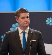 Oscar Sjöstedt (SD). Amir Nabizadeh/TT / TT NYHETSBYRÅN