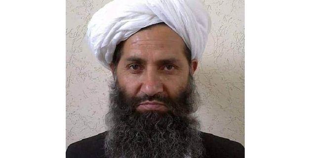 Talibanledaren Haibatullah Akhunzada.  AP