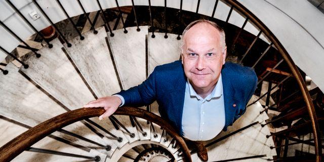 Jonas Sjöstedt (V). Tomas Oneborg/SvD/TT / TT NYHETSBYRÅN