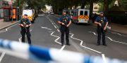 Polisen vid Westminster. HANNAH MCKAY / TT NYHETSBYRÅN