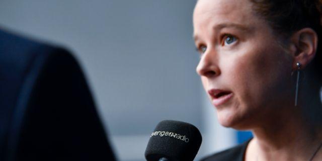 Amanda Lind (MP).  Henrik Montgomery/TT / TT NYHETSBYRÅN