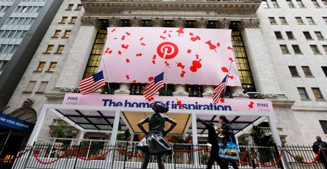 Pinterest slog estimaten – aktien rusade 17 procent