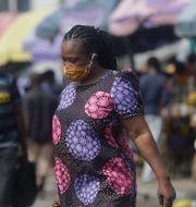 Lagos, Nigeria.  Sunday Alamba / TT NYHETSBYRÅN