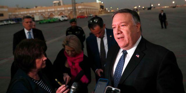 USA:s utrikesminister Mike Pompeo. Leah Millis / TT NYHETSBYRÅN