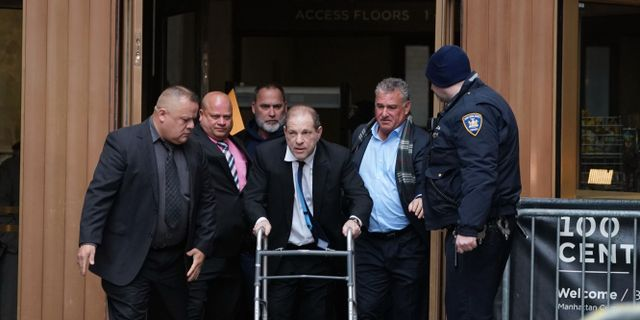 Harvey Weinstein.  BRYAN R. SMITH / AFP