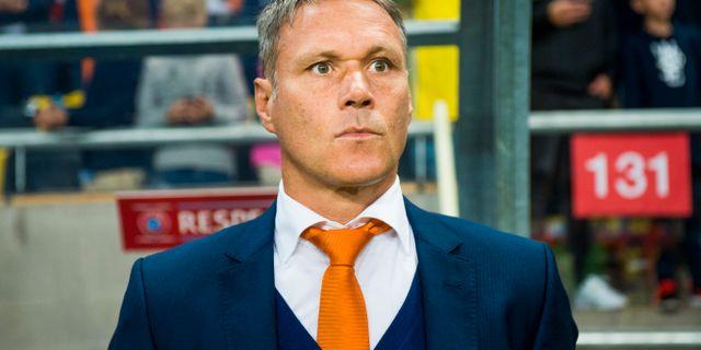 Marco van Basten. Arkivbild. LUDVIG THUNMAN / BILDBYRÅN