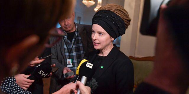 Amanda Lind (MP). Arkivbild. Anders Wiklund/TT / TT NYHETSBYRÅN