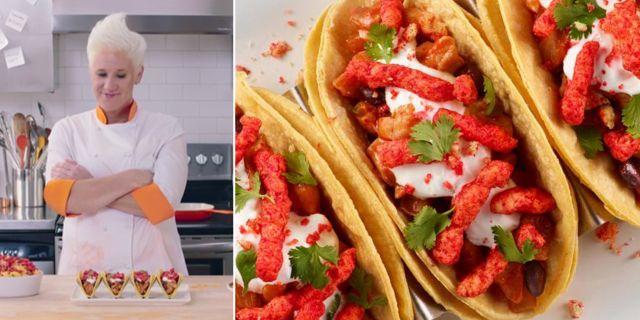 Ostbågar i tacos med koriander och gräddfil – skulle du testa? The Spotted Cheetah