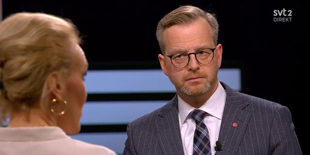 Mikael Damberg.  SVT