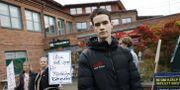 Martin Norrby, Luf-ordförande på Lidingö är kritisk till att moderpartiet inte gjort mer för att hindra att tiggeriförbudet röstas igenom. Christine Olsson/TT / TT NYHETSBYRÅN