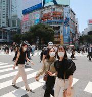 Tokyo. Koji Sasahara / TT NYHETSBYRÅN