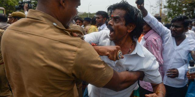Demonstranter skjutna i huvudet