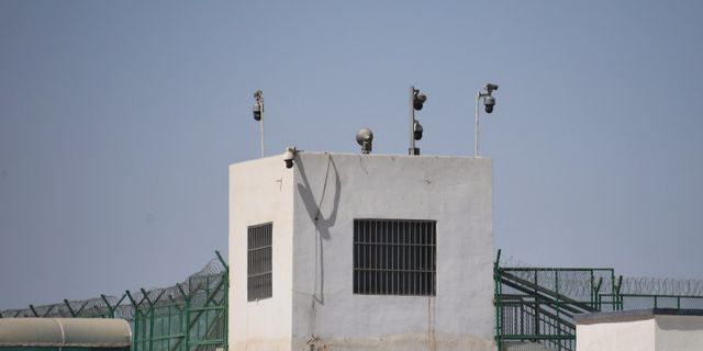 Tvångsläger från Kina  GREG BAKER / AFP