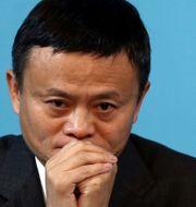 Alibabas grundare Jack Ma.  Marcos Brindicci / TT NYHETSBYRÅN