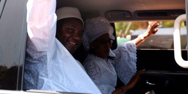 Adama Barrow. SEYLLOU / AFP