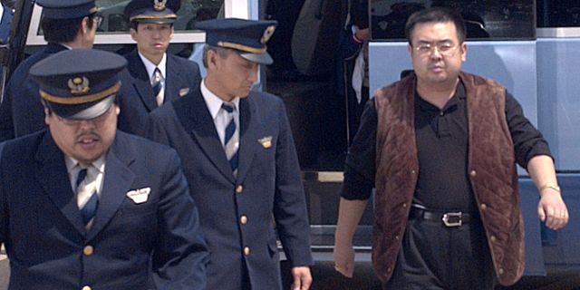 Kim Jong-Nam. Arkivbild från 2001. KYODO / TT NYHETSBYRÅN