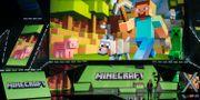 Arkivbild. Mojang utvecklar Minecraft. Damian Dovarganes / TT NYHETSBYRÅN