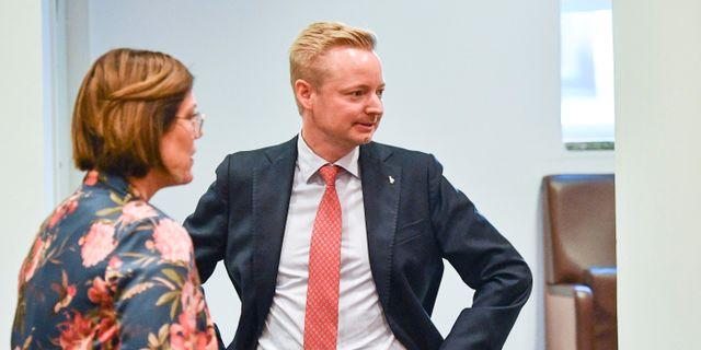 Torbjörn Tegnhammar (M). Johan Nilsson/TT / TT NYHETSBYRÅN