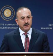 Turkiets utrikesminister Mevlüt Cavusoglu. ADEM ALTAN / AFP