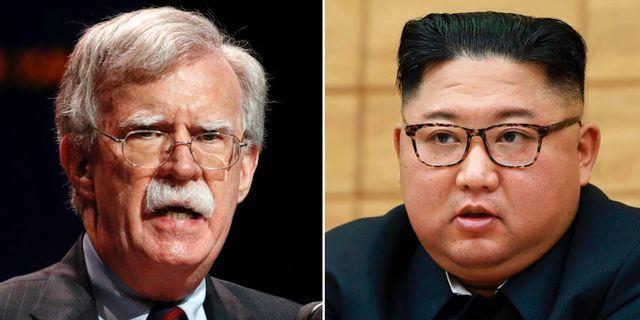 John Bolton/Kim Jong-Un.  TT.
