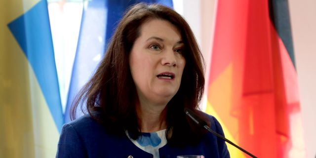 Sveriges utrikesminister Ann Linde (S). Michael Sohn / TT NYHETSBYRÅN
