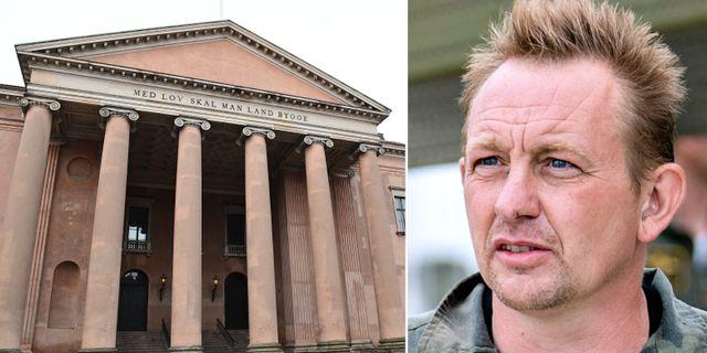 Köpenhamns tingsrätt, där rättegången mot Peter Madsen ska hålla. TT